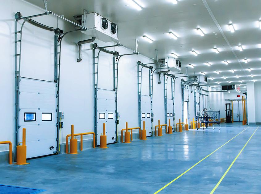 magazzino e lavorazioni a temperatura controllata
