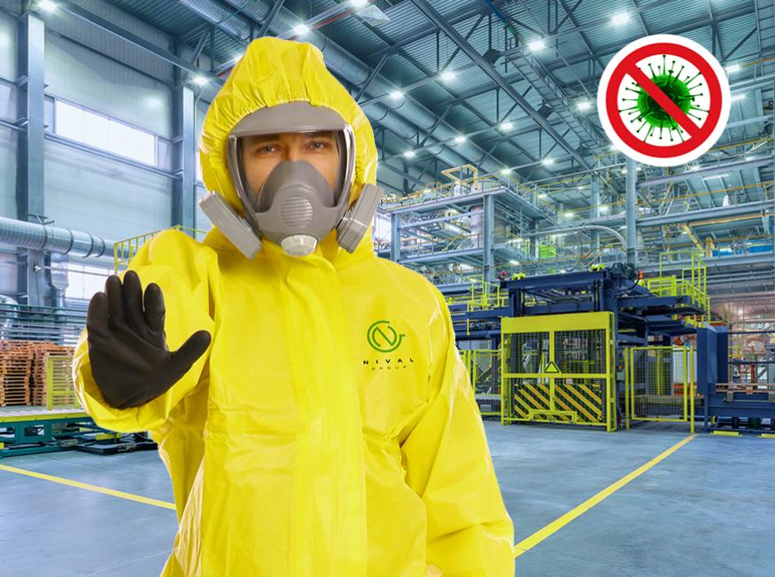 Sanificazioni industrilai