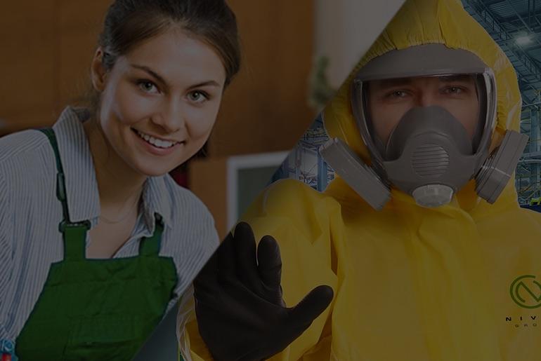 Reinigungs- und Sanitisierungsmaßnahmen