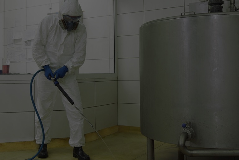 Industrial cleaning and sanitisation
